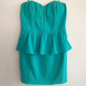 NWOT Pins and Needles Peplum Dress Size 8